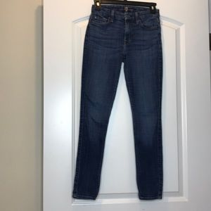 7 for all man kind blue jeans